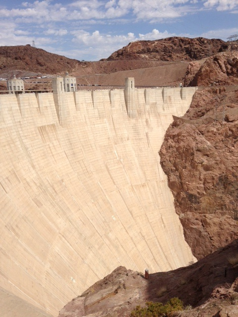 En nog even de Hoover Dam..
